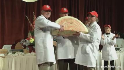 News video: World's Top Cheese Prize Goes to Swiss, but US Finishes Well